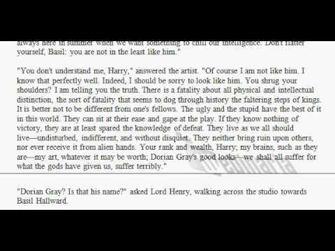 Picture of Dorian Gray - British Reading - Chapter 1 - Oscar Wilde - British English Pronunciation