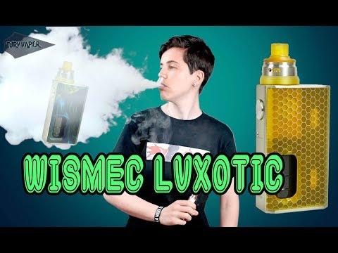 Luxotic de Wismec + Kit Tobinho RDA Un bottom feeder de calidad