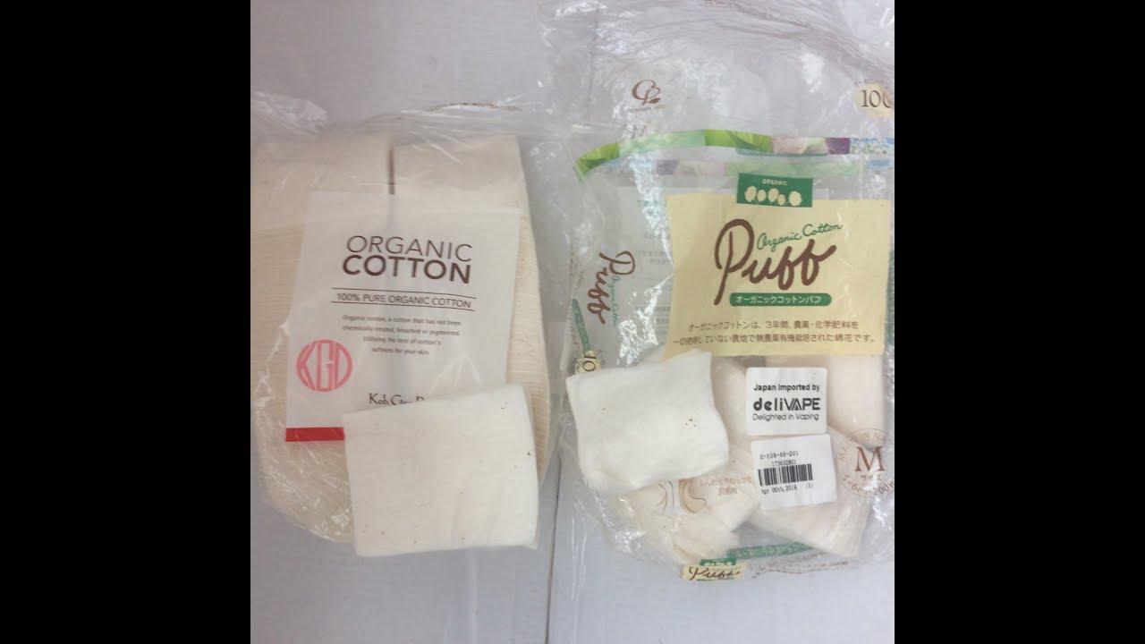 80 Sheets Koh Gen Do Organic Cotton From Gearbest Vs Puff Muji For Vape 5 Pads