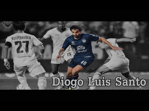 diogo luís santo The Best Striker of Thai Premier league 2015