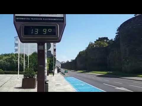 Lugo vive uno de los días más calurosos del año