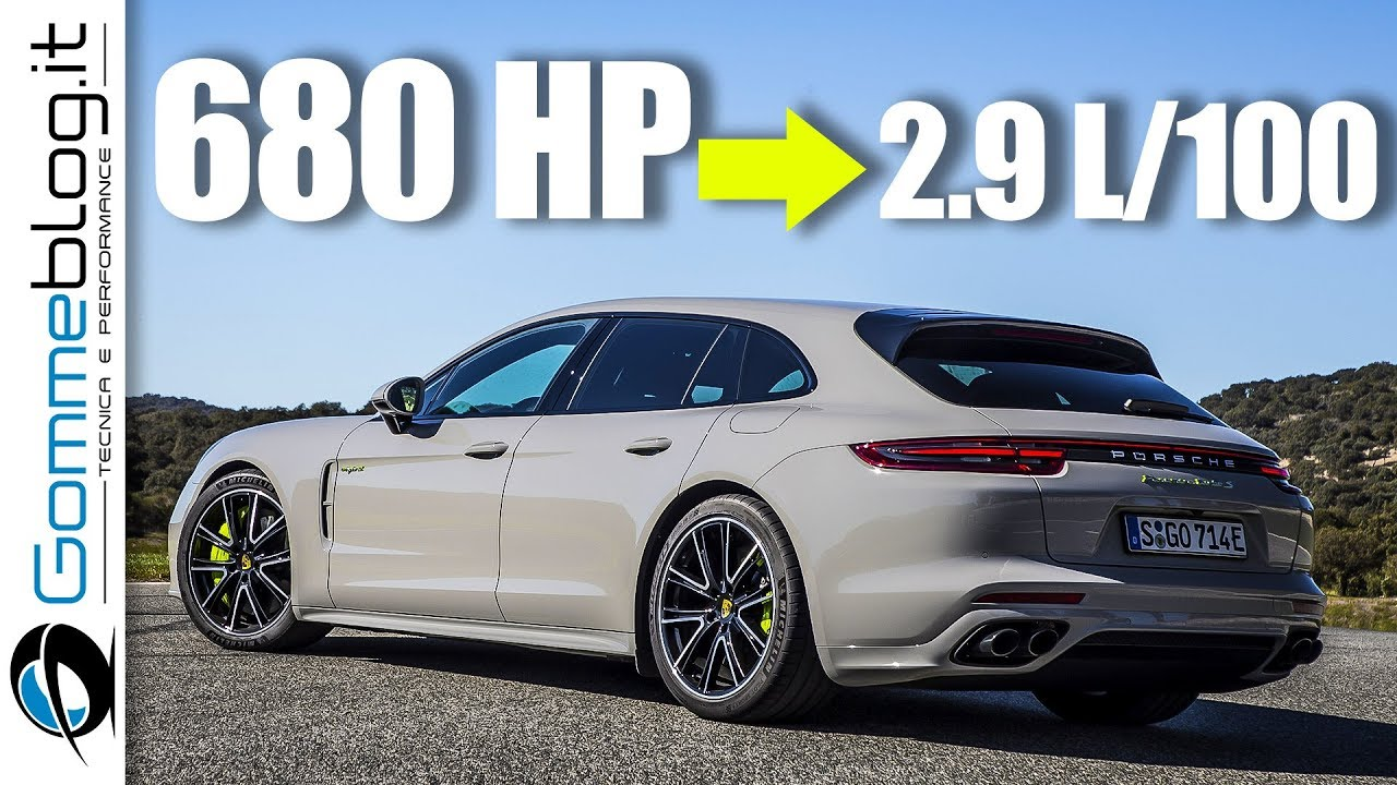 Porsche Panamera Turbo S E Hybrid Sport Turismo The Perfect Car Youtube