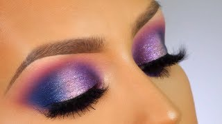 Drugstore galaxy inspired makeup tutorial