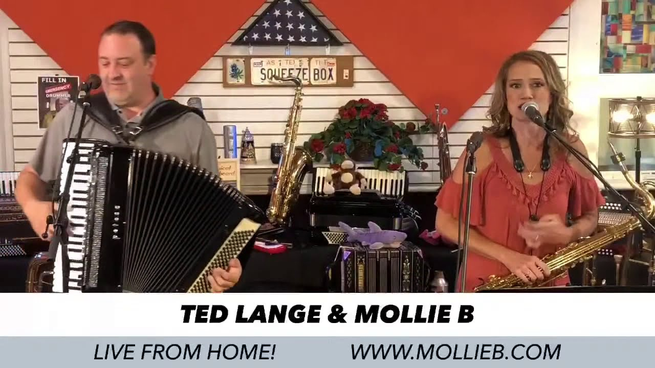 LIVE! 7/7/2020 Mollie B and Ted Lange from their home studio!