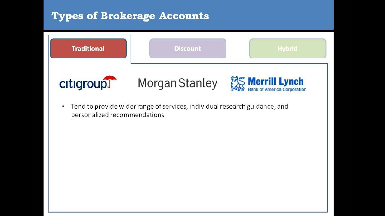 What is a Brokerage Account/Firm?