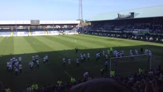 Portsmouth FC| Players Lap of Honour 2014