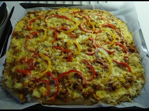 Очень вкусное тесто для пиццы + супер-начинка