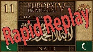 Europa Universalis IV Najdi Jihad Rapid Replay 11