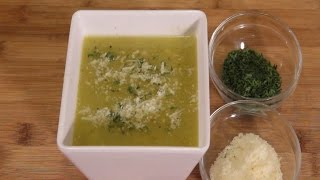 Spicy Chili Verde With White Beans - Vegetarian