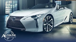 Lexus Reveals LC Convertible Concept, Cadillac To Become GM's Tesla Fighter - Autoline Daily 2510