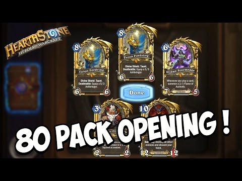 Hearthstone ITA : 80 PACK OPENING e 6800 DUST IN LEGGENDARIE !