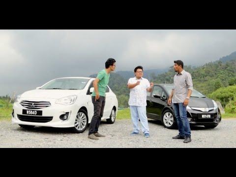 Driven 2017 6 Rm10 Challenge Ford Fiesta Ecoboost Vs Honda Jazz Hybrid Mitsubishi Attrage