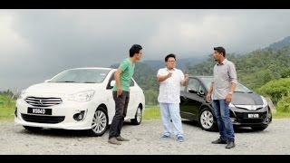 DRIVEN 2014 #6: RM10 Challenge - Ford Fiesta Ecoboost vs Honda Jazz Hybrid vs Mitsubishi Attrage