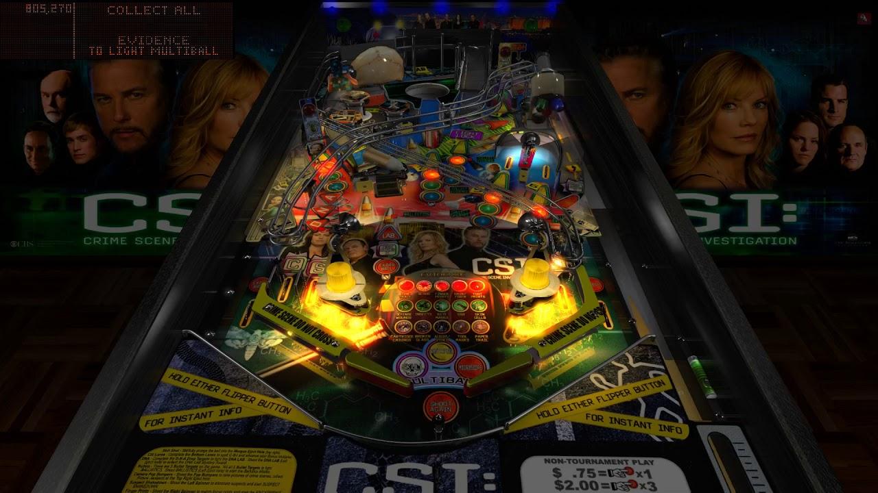 CSI Stern Pinball VPX