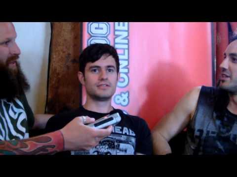Voodoo Six Interview Sonisphere Festival 2014