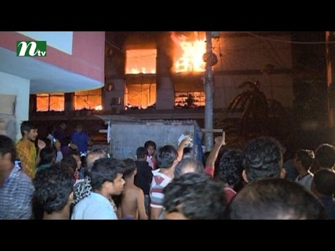 Horrible fire in capital's market | News & Current Affairs