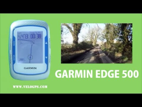 Garmin Edge 500 Course Navigation