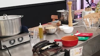 Grandinina sui piselli - Live Streaming Show Cooking Del Bocca Al Mercato Centrale Di Livorno