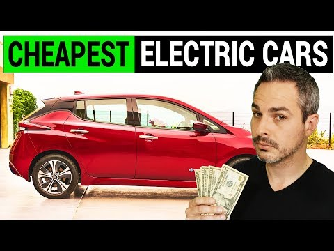 Cheapest Electric Cars in 2018