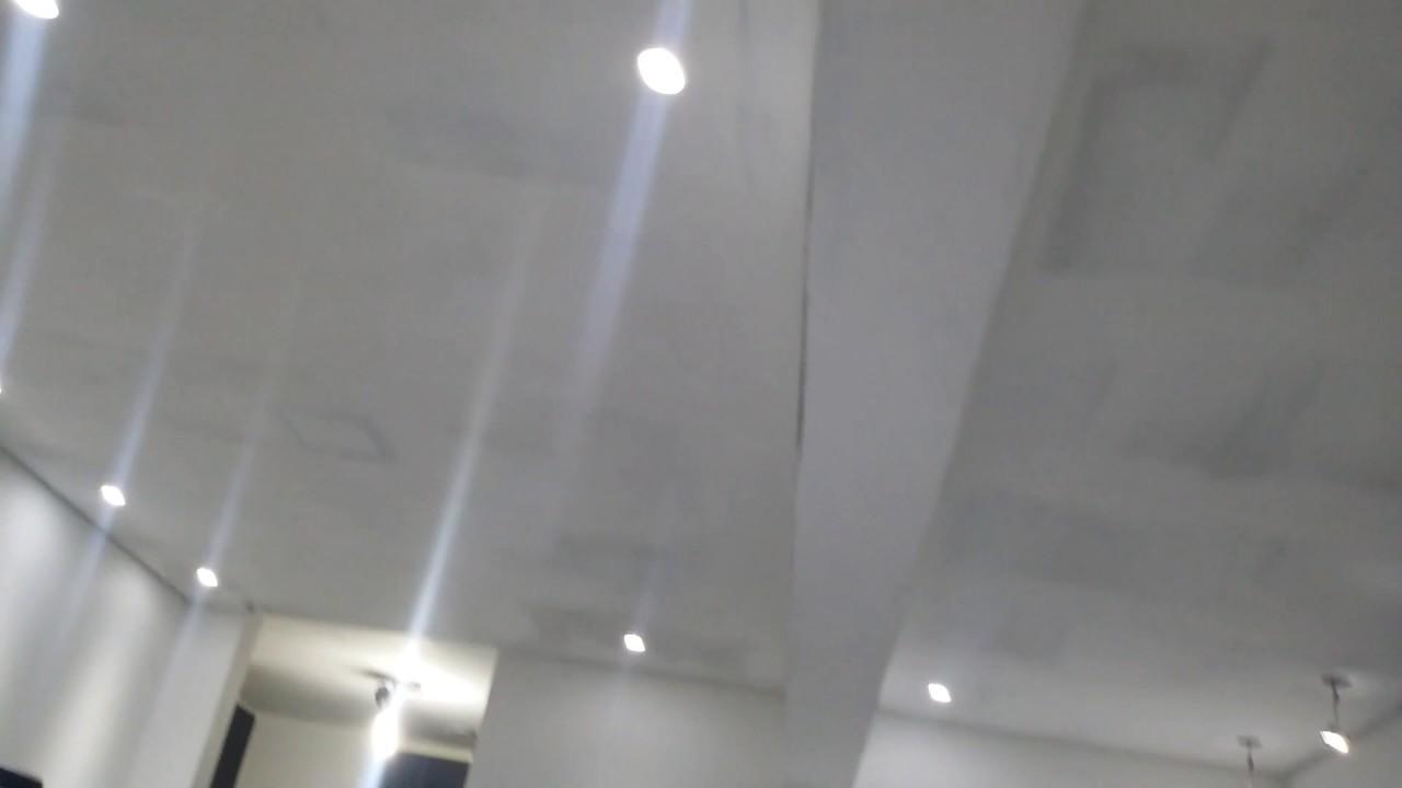 de gesso Lampada teto flutuante led de em CBshQrxtd