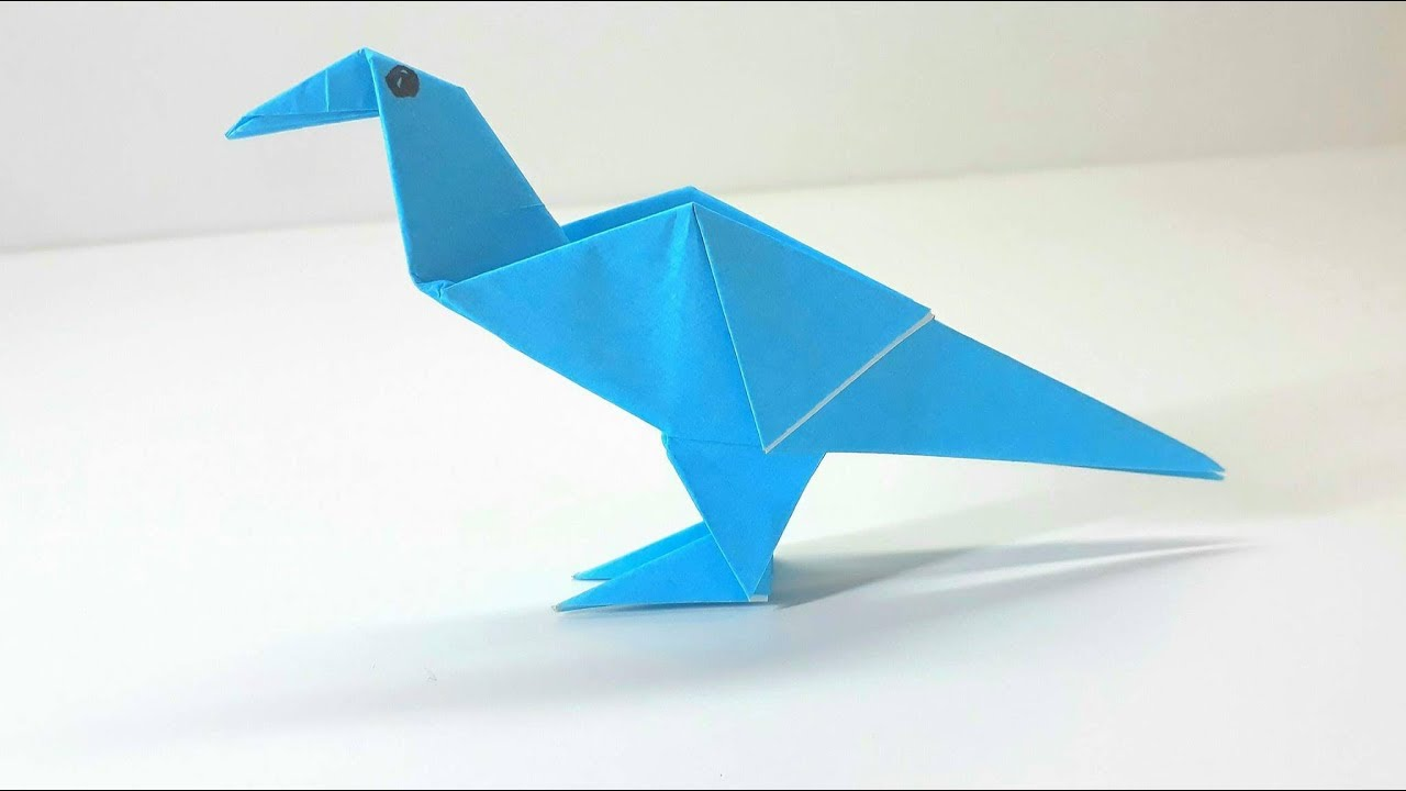 How to make an Origami Dove (HD) - YouTube | 720x1280
