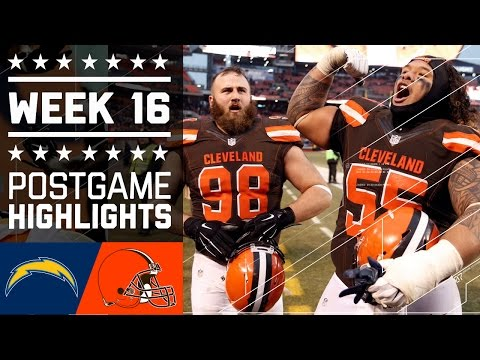 Chargers vs. Browns | NFL Week 16 Game Highlights