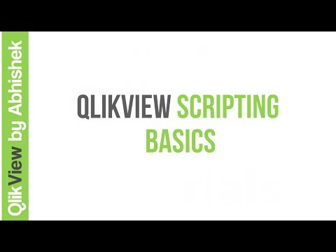 QlikView Scripting | Basics
