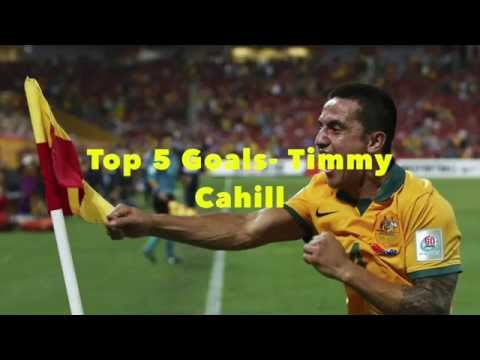 Top 5 Goals- Tim Cahill