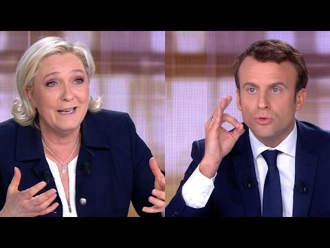 Débat Emmanuel Macron - Marine Le Pen : Invectives et brutalité