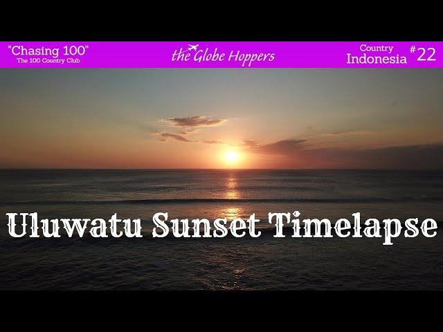 Uluwatu Sunset Timelapse