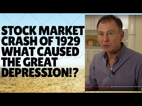 What caused the Great Depression?  / Stock Market Crash of 1929?