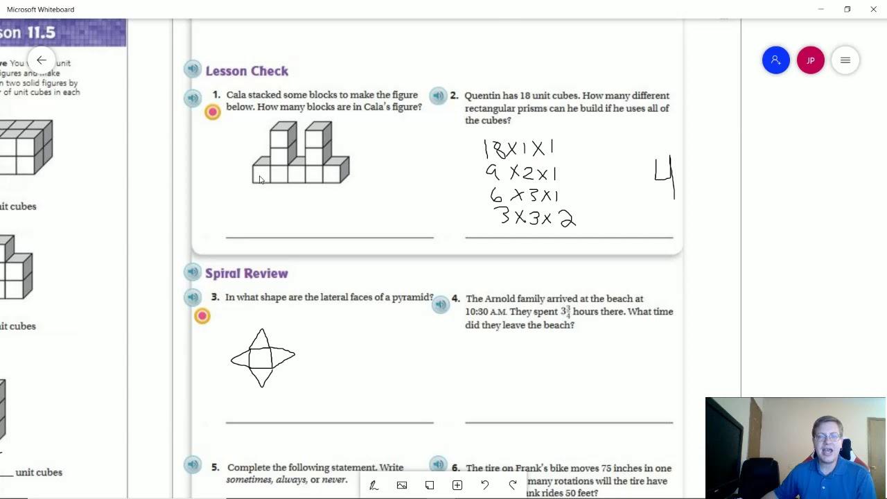 5th Grade Go Math Lesson 11.5 Homework - YouTube