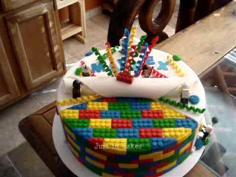 Lego Cake  YouTube