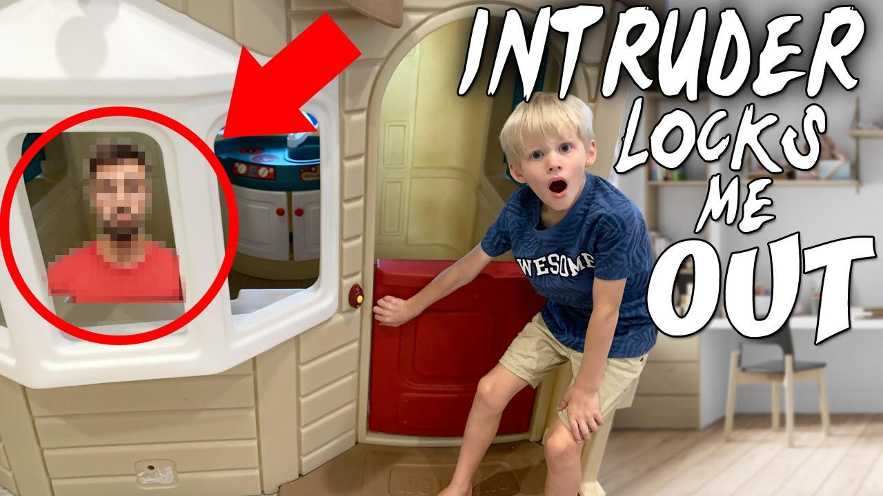 Locked Out of My Own Playhouse?!