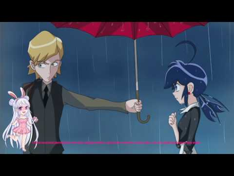 """Umbrella Scene PV Version"" Miraculous Ladybug Comic Dub"