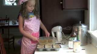 How To Make Coconut Flour Muffins - Ella's Kids Cooking Channel