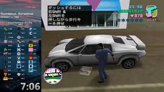 Grand Theft Auto: Vice City 100% Speedrun in 7:09:41