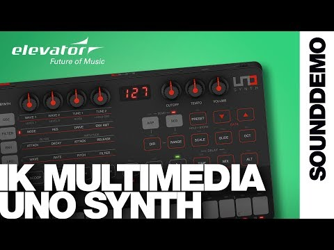 IK Multimedia UNO Synth - Synthesizer - Sound Demo (no talking) Mp3