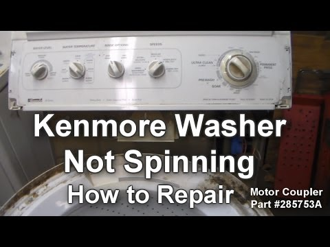 Kenmore Washer Not Spinning - How to Troubleshoot and Repair