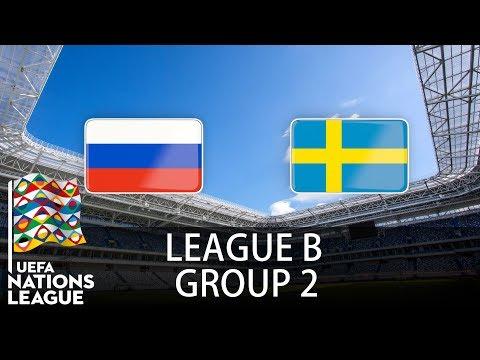 Russia Vs Sweden - 2018-19 UEFA Nations League - PES 2019