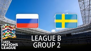 Russia vs Sweden - 2018-19 UEFA Nations League - PES 2019