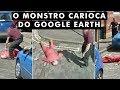7 crimes pegos pelo Google Earth