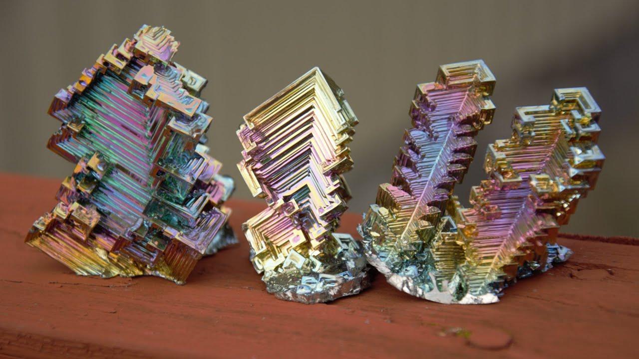 Cristale de bismut DIY