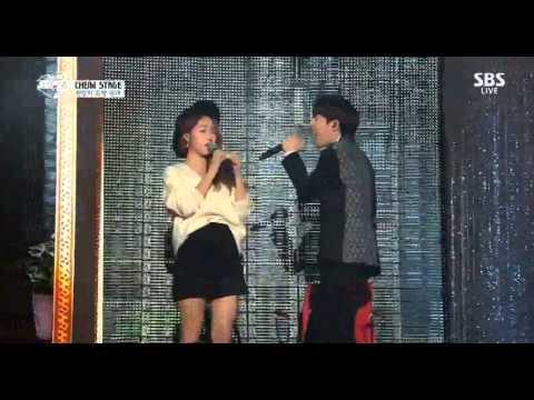 141221 sbs gayo daejun soyu w sunggyu sungjae