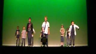 Jongensgroep Demo Dans