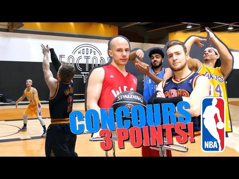 CONCOURS TIR 3 POINTS NBA ALL STAR GAME!