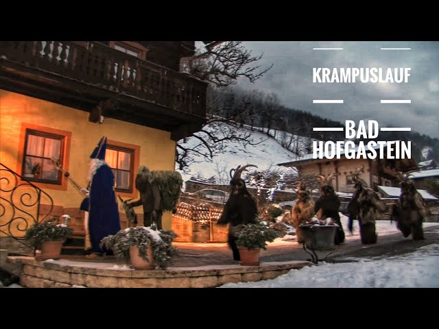 Krampus in Gastein: Krampuslauf in Bad Hofgastein 2019
