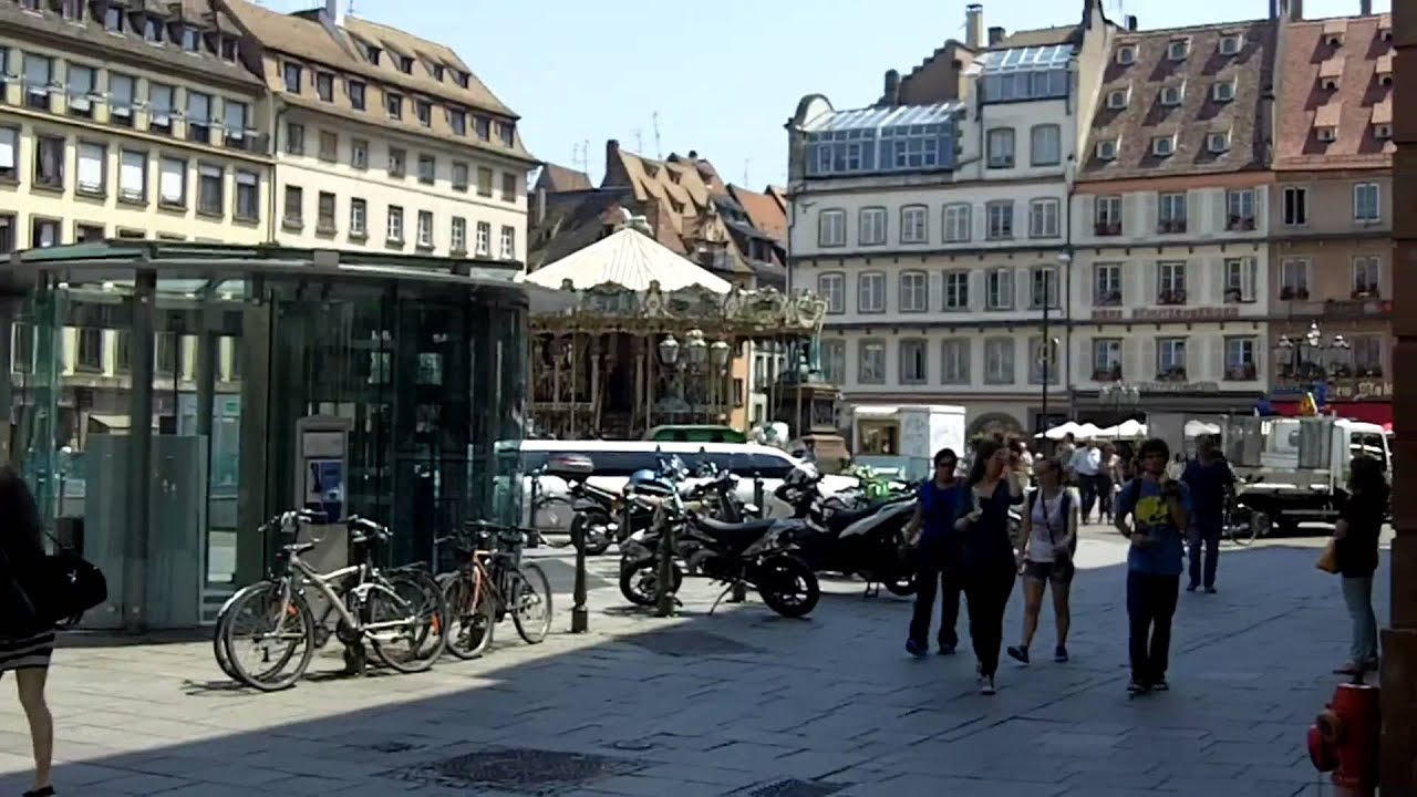 City Centre Strasbourg France YouTube