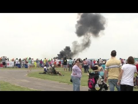 Camera was rolling for Dayton Air Show Crash