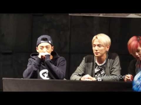 130915 B.A.P Daejeon Fansign Himchan Focused (Special BANGHIM)